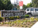 Cupertino Sports Center Sign